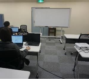 教室の風景④